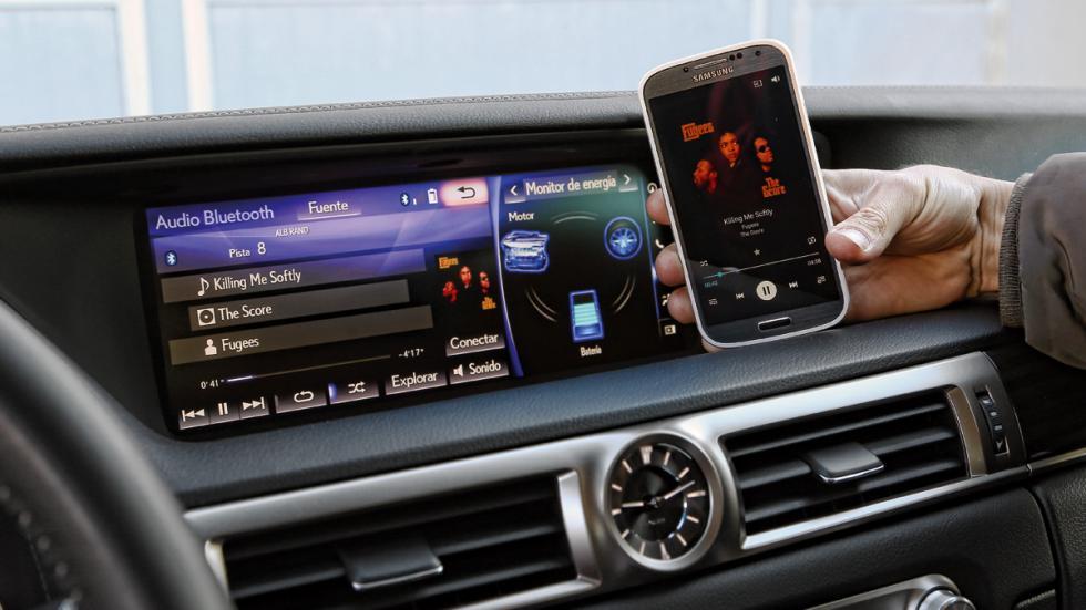 Sistema multimedia del Lexus GS 300h
