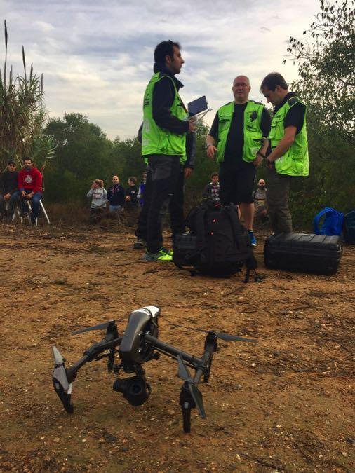 DJI en el Rally RAC de Cataluña 2016