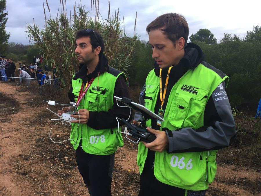 DJI en el Rally RACC de Cataluña 2016