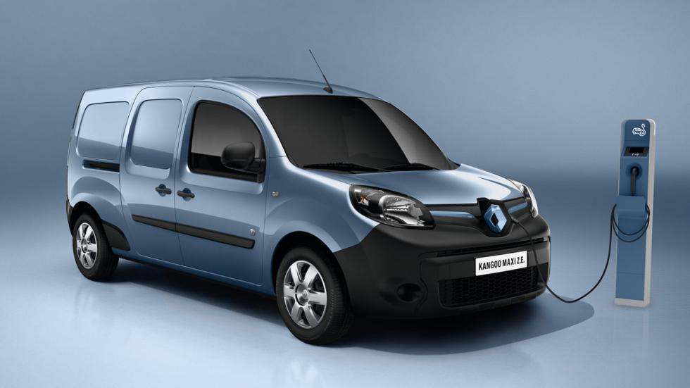 eléctricos más autonomía Renault Kangoo Z.E.