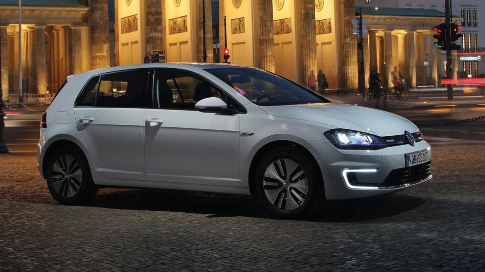 eléctricos más autonomía Volkswagen e-Golf