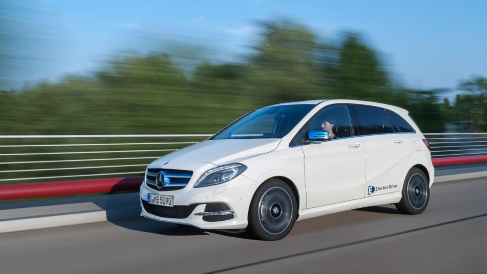eléctricos más autonomía Mercedes-Benz B 250e