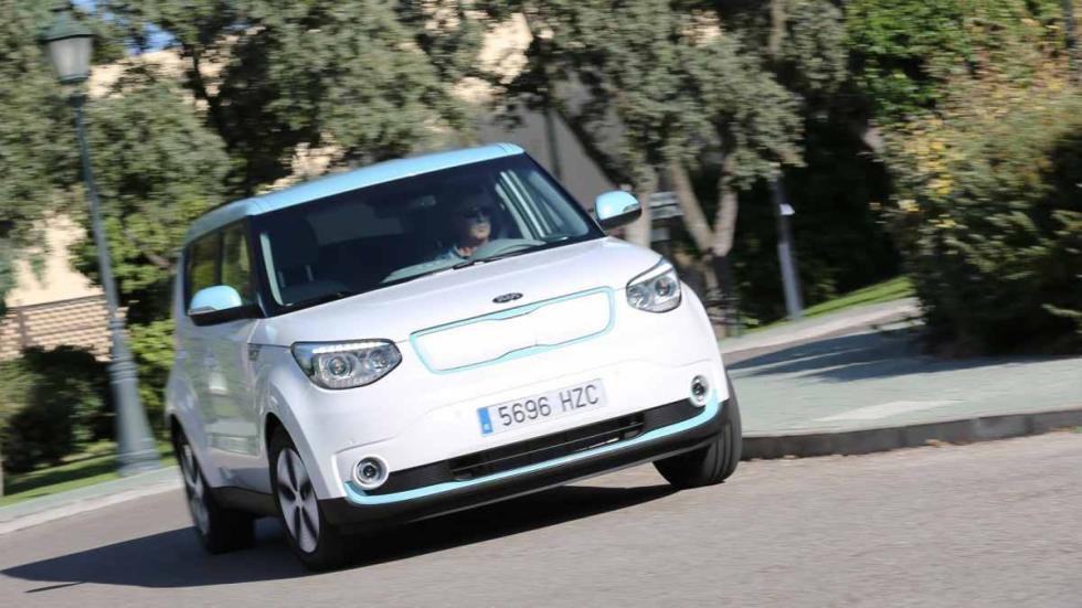 eléctricos más autonomía Kia Soul EV