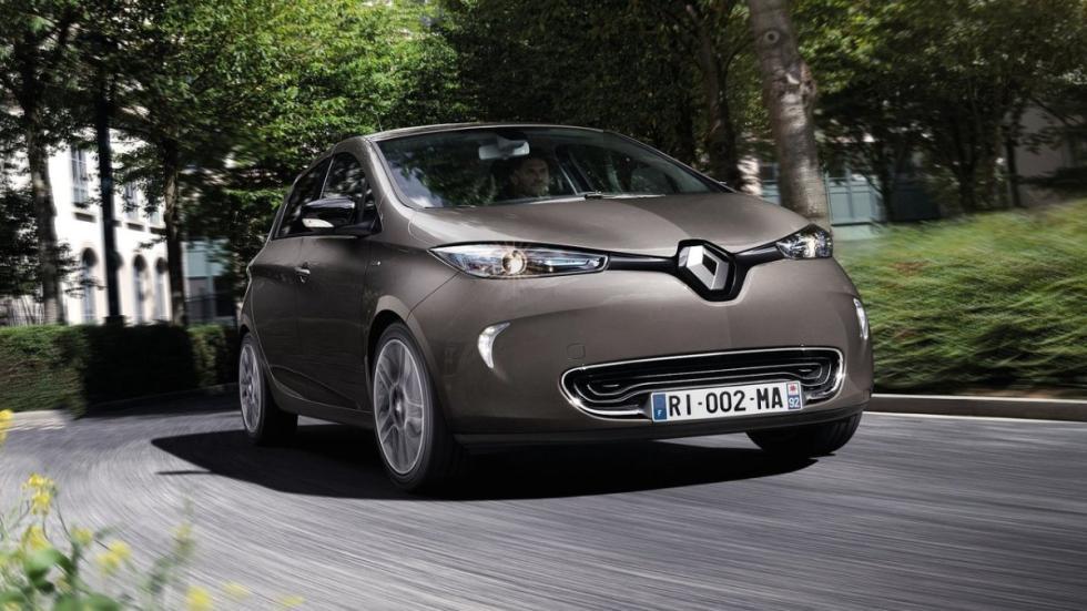 eléctricos más autonomía Renault ZOE