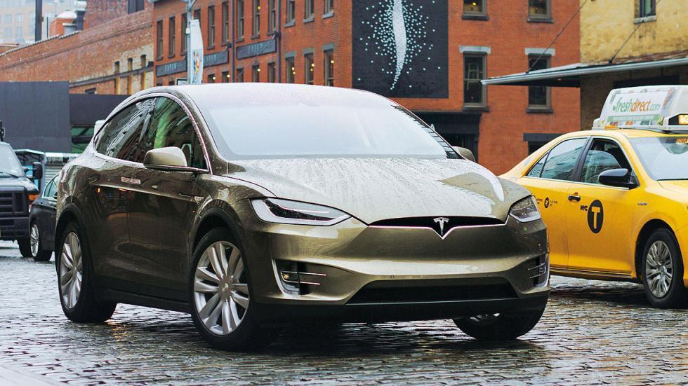 eléctricos más autonomía Tesla Model X P100D
