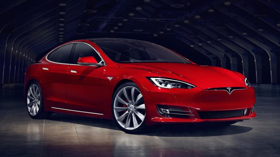 eléctricos más autonomía Tesla Model S P100D