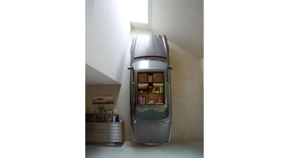 casas-ensueño-garaje-salón-holanda
