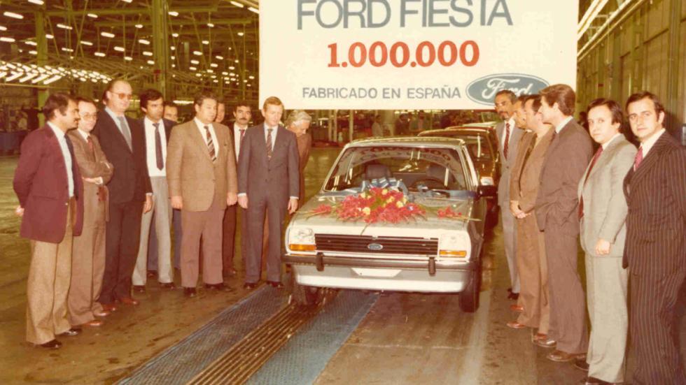 40 aniversario Ford Almussafes ford fiesta un millón