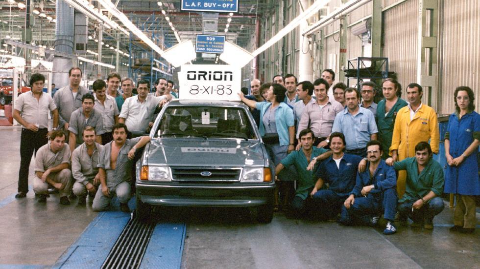 40 aniversario Ford Almussafes ford orión