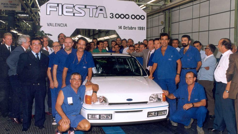 40 aniversario Ford Almussafes ford fiesta mk2