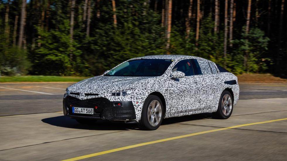 Opel Insignia Grand Sport 2017 prueba