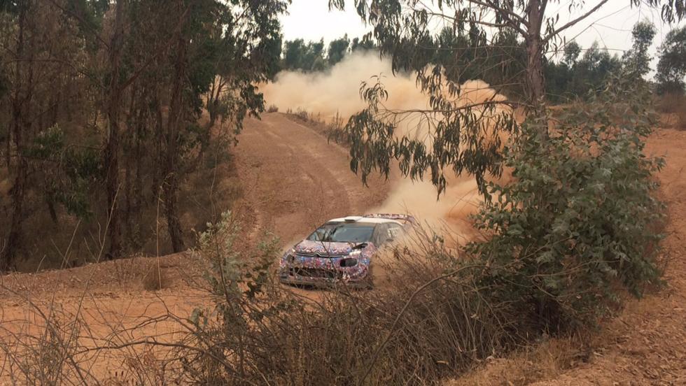 El motor del C3 WRC 2017 suena de forma impresionante.