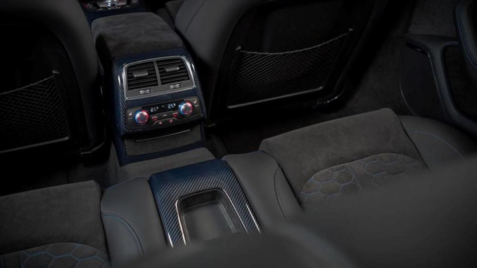 Interior fibra carbono Audi RS6 Performance