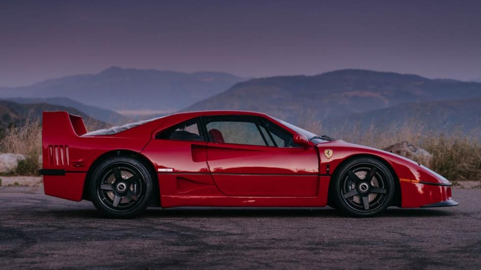 Ferrari F40 llantas HRE perfil