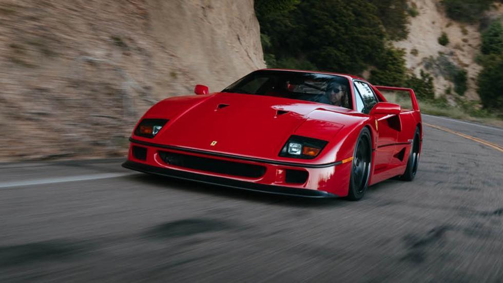 Ferrari F40 llantas HRE delantera
