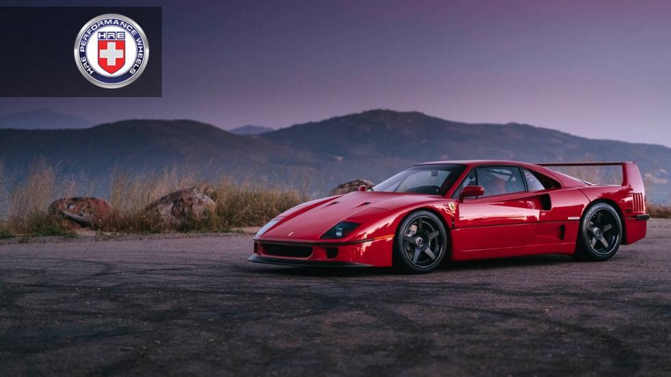 Ferrari F40 llantas HRE estática