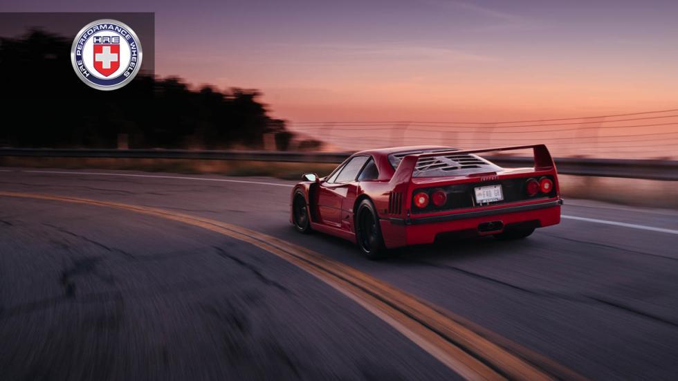 Ferrari F40 llantas HRE trasera