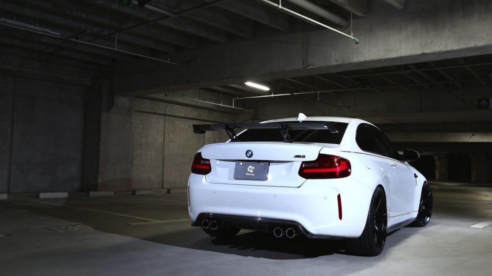 BMW M2 3D Design trasera