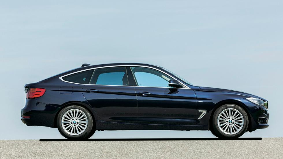 Test 100.000 BMW Serie 3 GT lateral