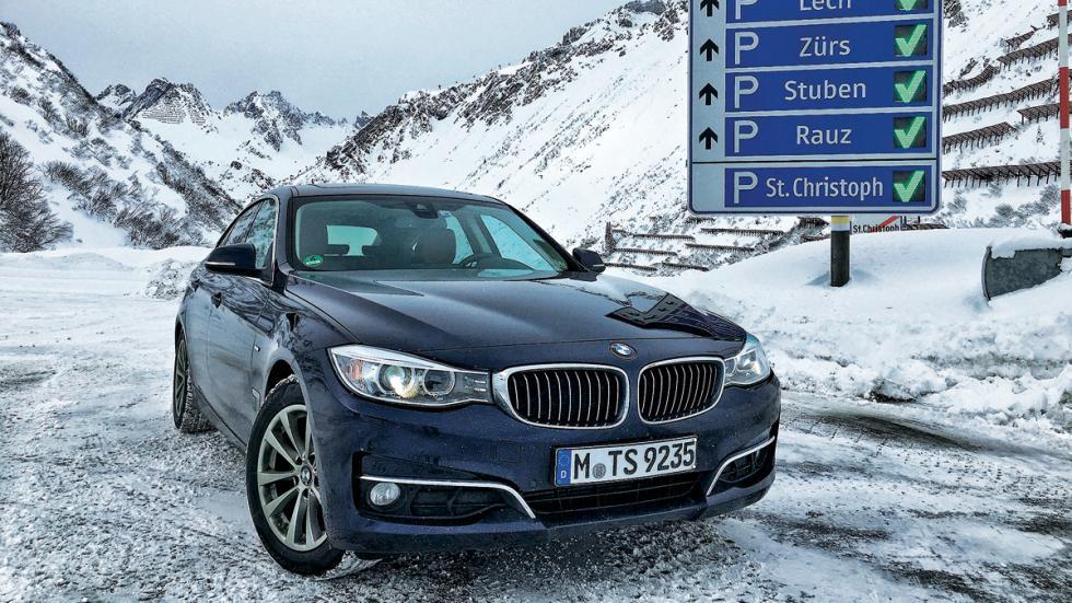 Test 100.000 BMW Serie 3 GT frontal