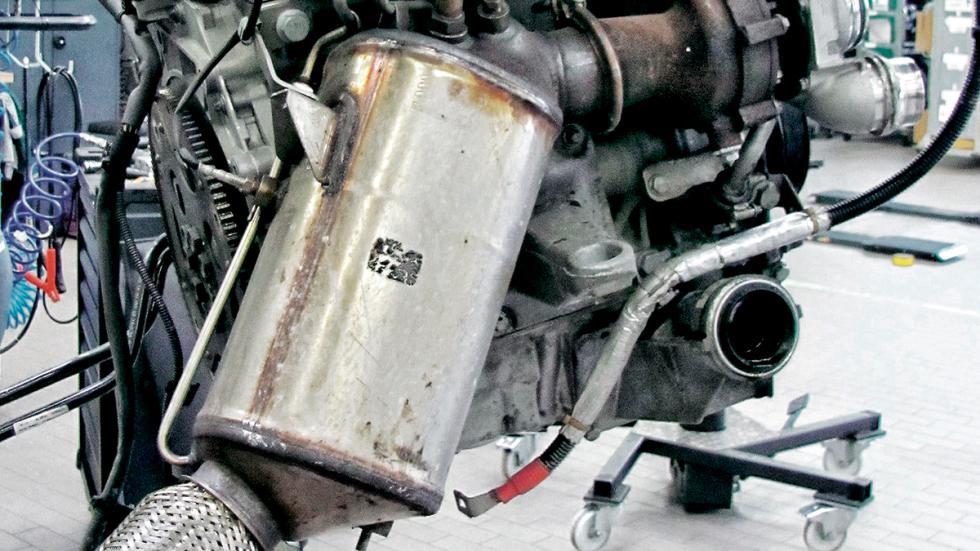 Test 100.000 BMW Serie 3 GT catalizador