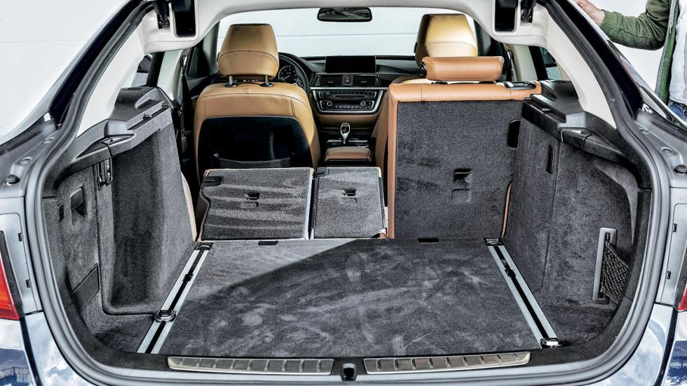 Test 100.000 BMW Serie 3 GT maletero