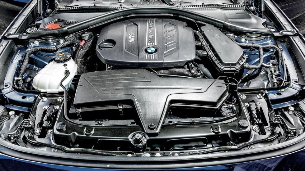 Test 100.000 BMW Serie 3 GT motor