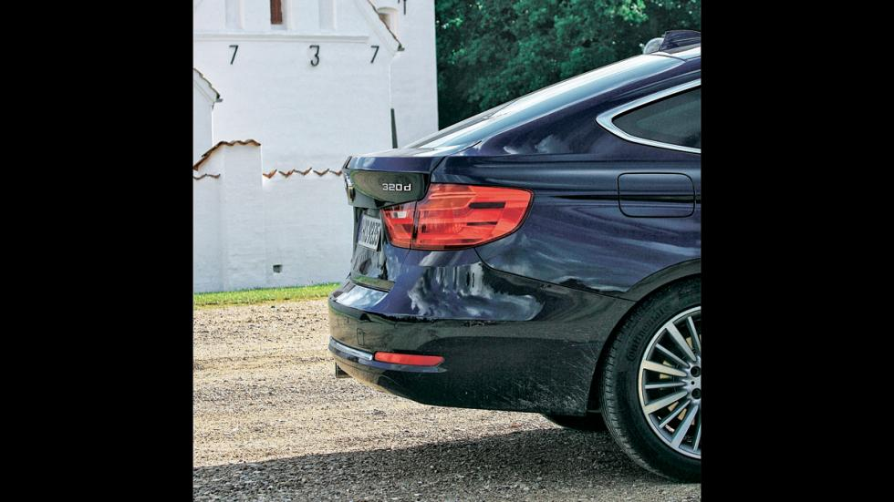 Test 100.000 BMW Serie 3 GT trasera