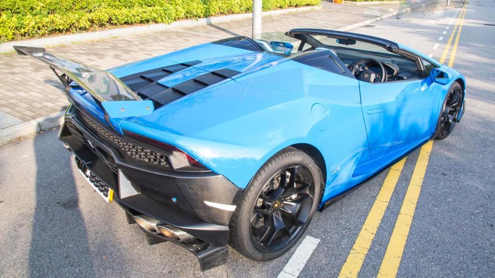 Lamborghini Huracan DMC LP1088 E-GT Spyder cenital