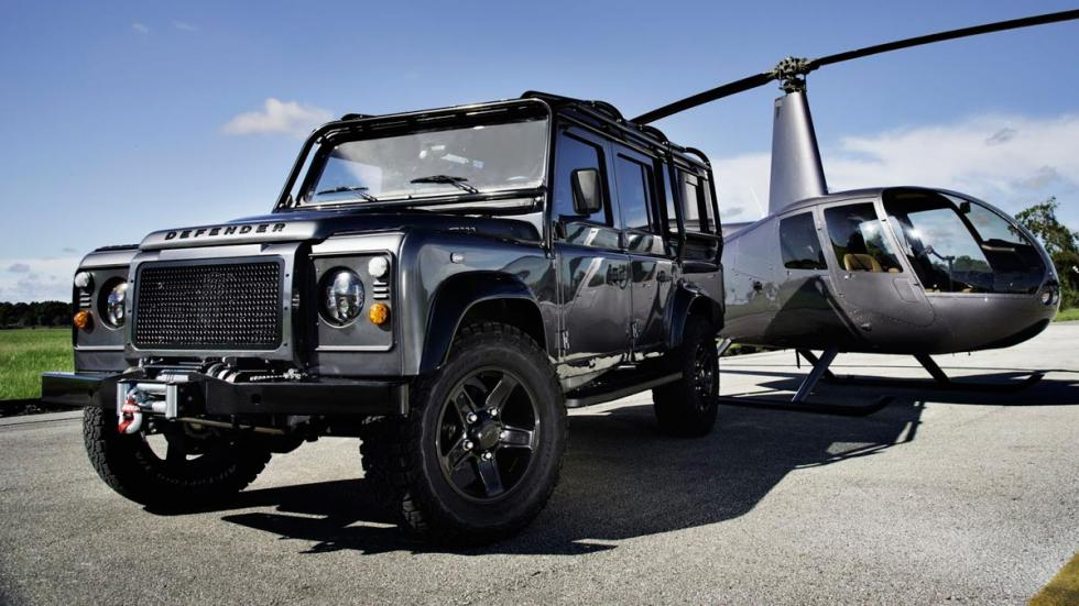 Land Rover Defender East Coast