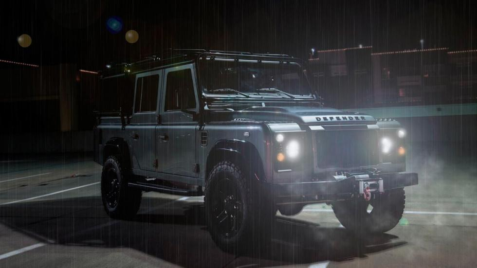 Land Rover Defender East Coast lluvia