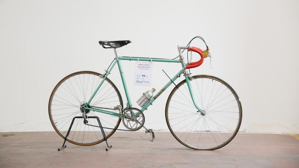 Bicicleta Bianchi clásica