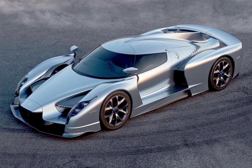 Manifattura Automobili Torino SCG003S. En 2017. 750 CV. Más de 2 g de fuerza en