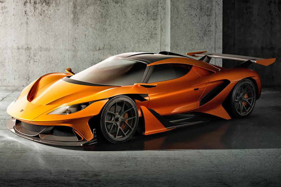 Apollo Arrow. Posiblemente en 2017. 1.000 CV y 1.000 Nm. 360 km/h.