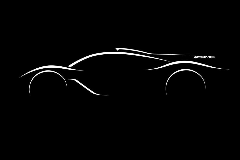 Mercedes-AMG R50. En 2018. 1.300 CV para 1.300 kilos.