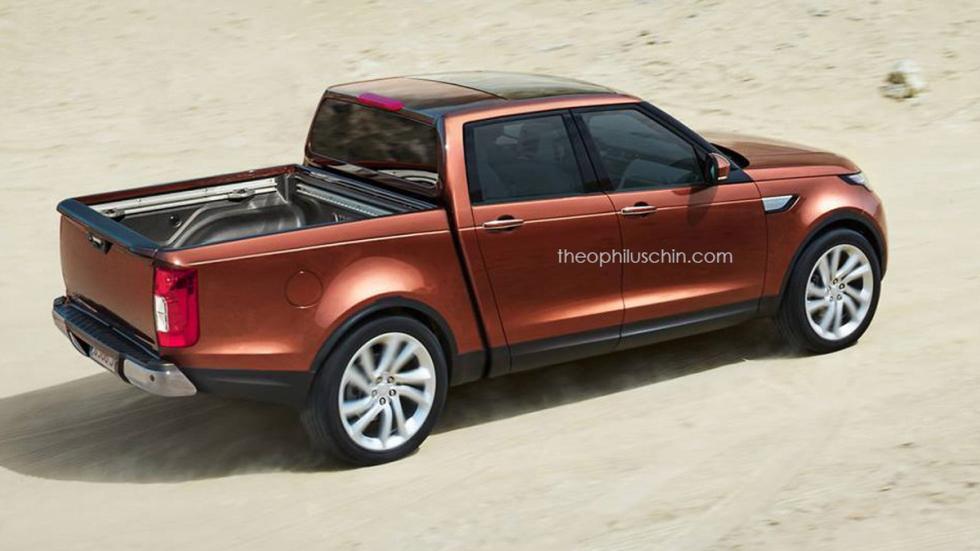 Land Rover Discovery pick-up zaga
