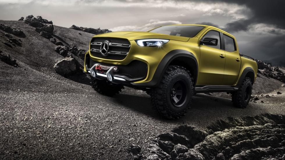 Mercedes Clase X Powerful Adventurer frontal