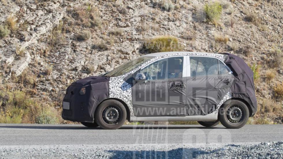 Kia Picanto 2017. Fotos espía