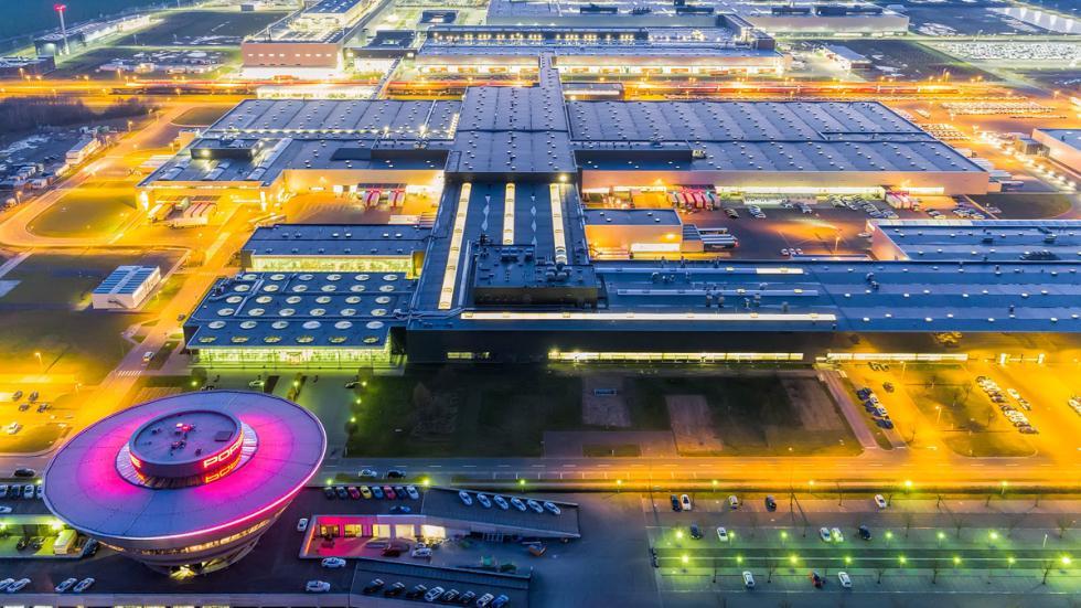 La fábrica digital de Porsche está en Leipzig