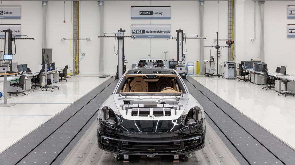 La fábrica digital de Porsche calidad