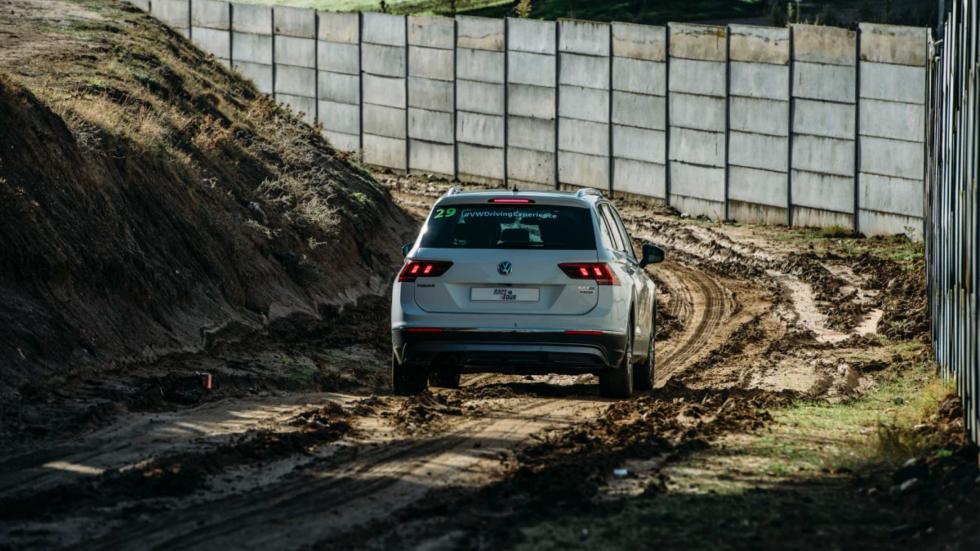 VW Tiguan en el Jarama