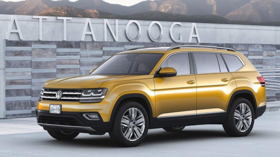 Volkswagen Atlas tres cuartos