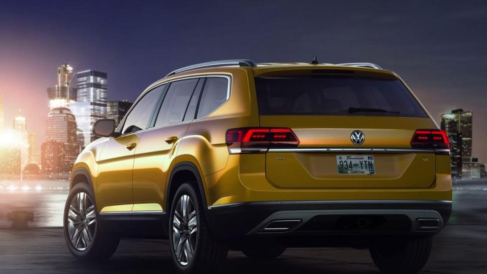 Volkswagen Atlas trasera