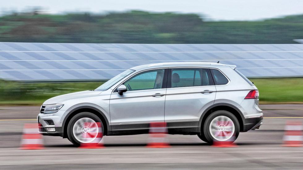 VW Tiguan barrido