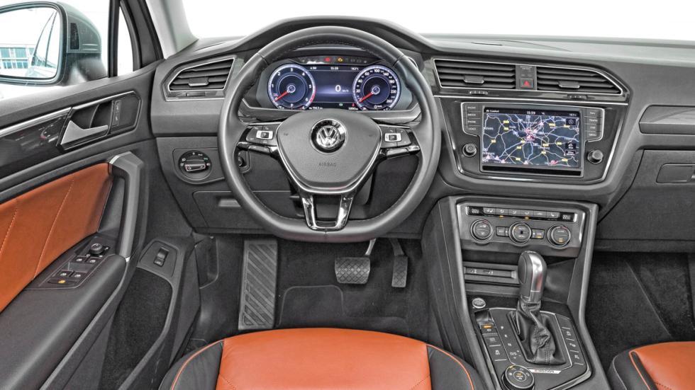 VW Tiguan salpicadero