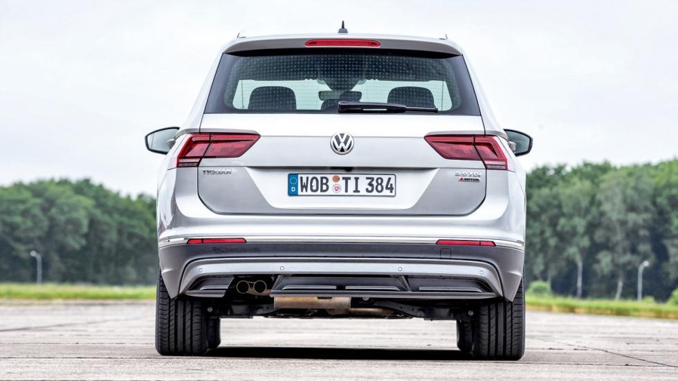 VW Tiguan salpicadero  trasera