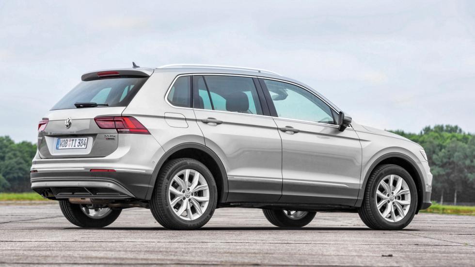 VW Tiguan salpicadero tres cuartos