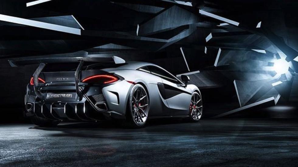 McLaren 570S Vorsteiner trasera