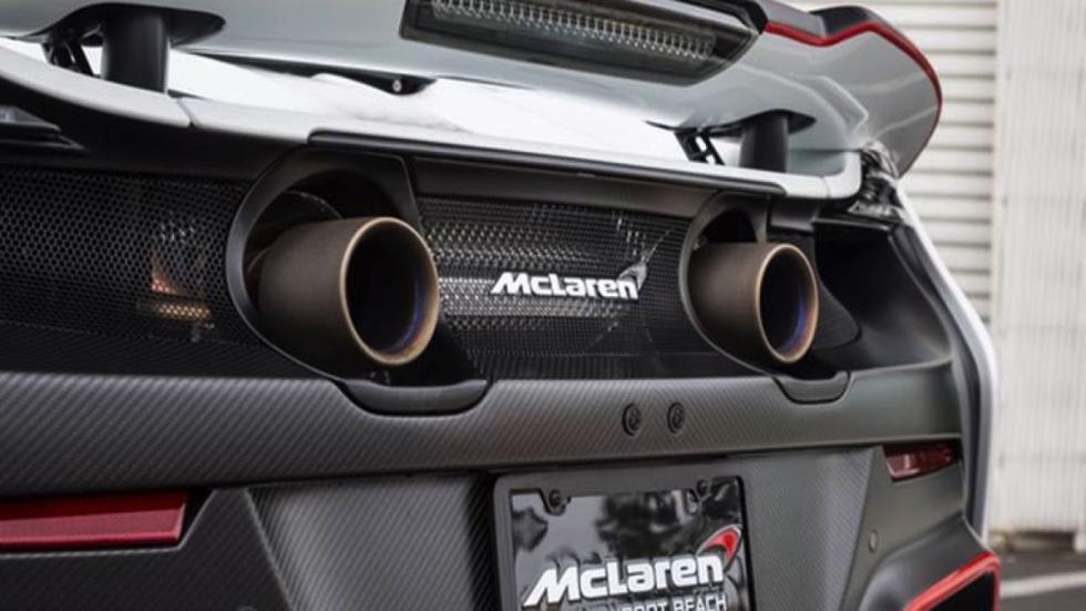 McLaren 675LT escape