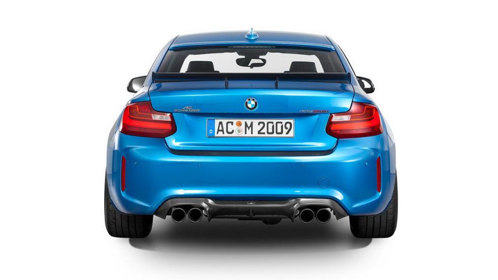 BMW M2 Coupé de AC Schnitzer culo